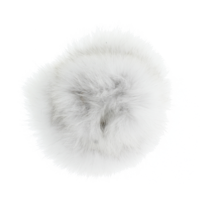 Baby Frr Fur For Doona In White With Black Tips (Natural BL)