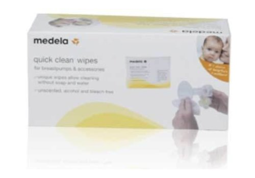 Medela Medela Quick Clean Breast Pump And Accessory Wipes - (Singles)