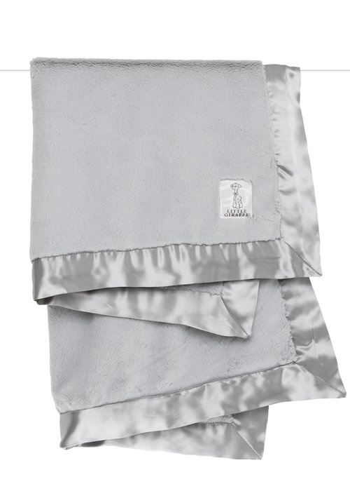 Little Giraffe Little Giraffe Luxe Blanket In Silver
