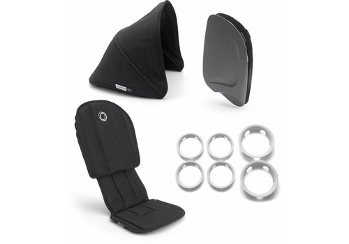 Bugaboo Bugaboo Ant Style Set Complete In Black-Black