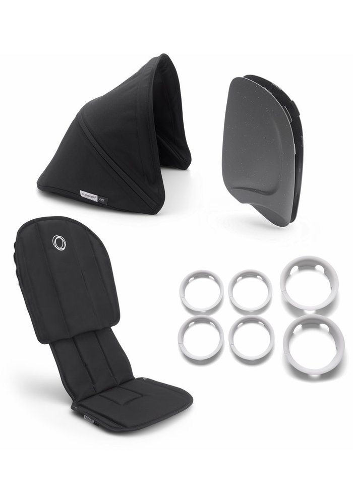 Bugaboo Ant Style Set Complete In Black-Black