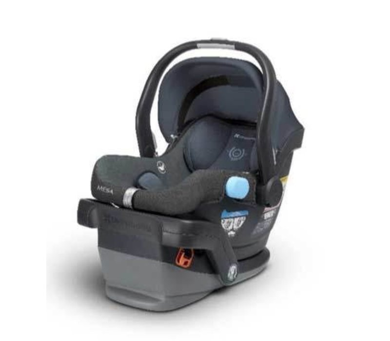 UppaBaby MESA Infant Car Seat With Base In Henry (Blue Marl)