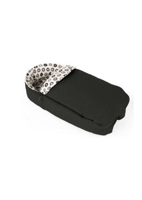 Stokke CLOSEOUT!! Stokke Xplory Sleeping Bag Warm In Black For Carrycot