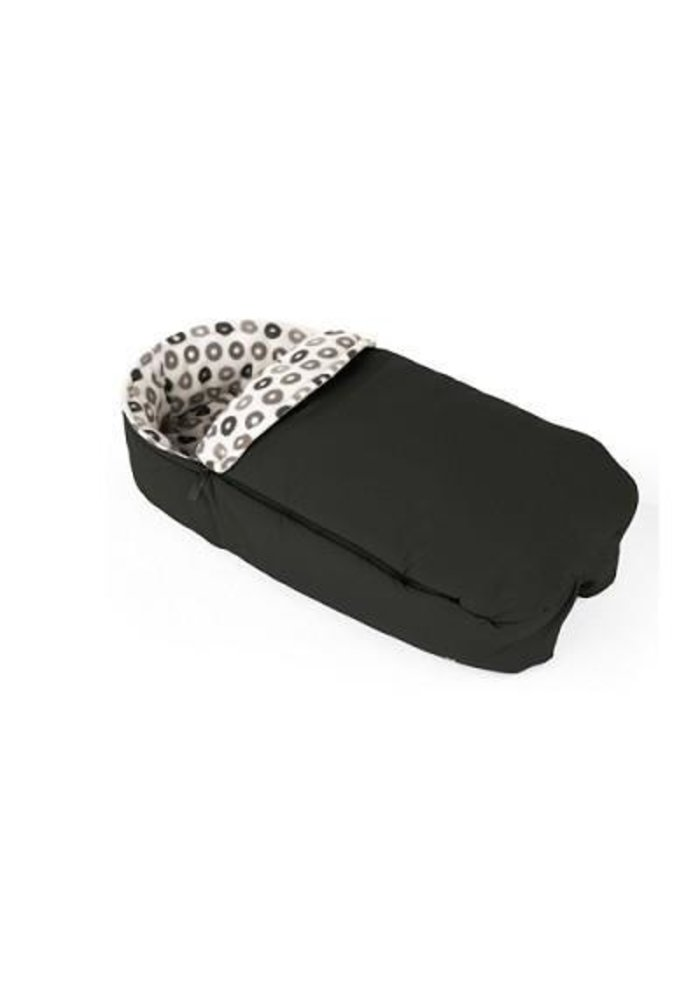 CLOSEOUT!! Stokke Xplory Sleeping Bag Warm In Black For Carrycot