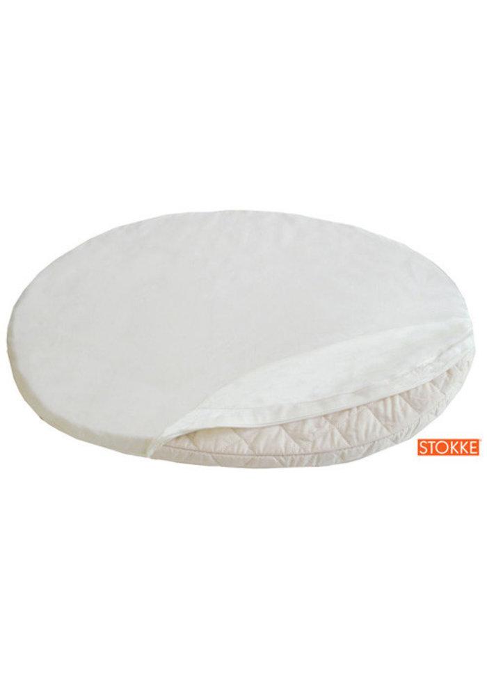 Stokke Sleepi Mini (Bassinet) Fitted Sheet In Classic White