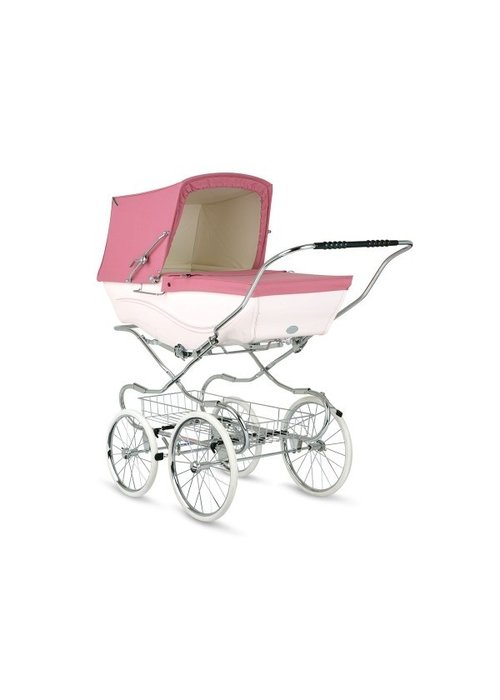 Silver Cross Silver Cross Kensington Carriage In Pink