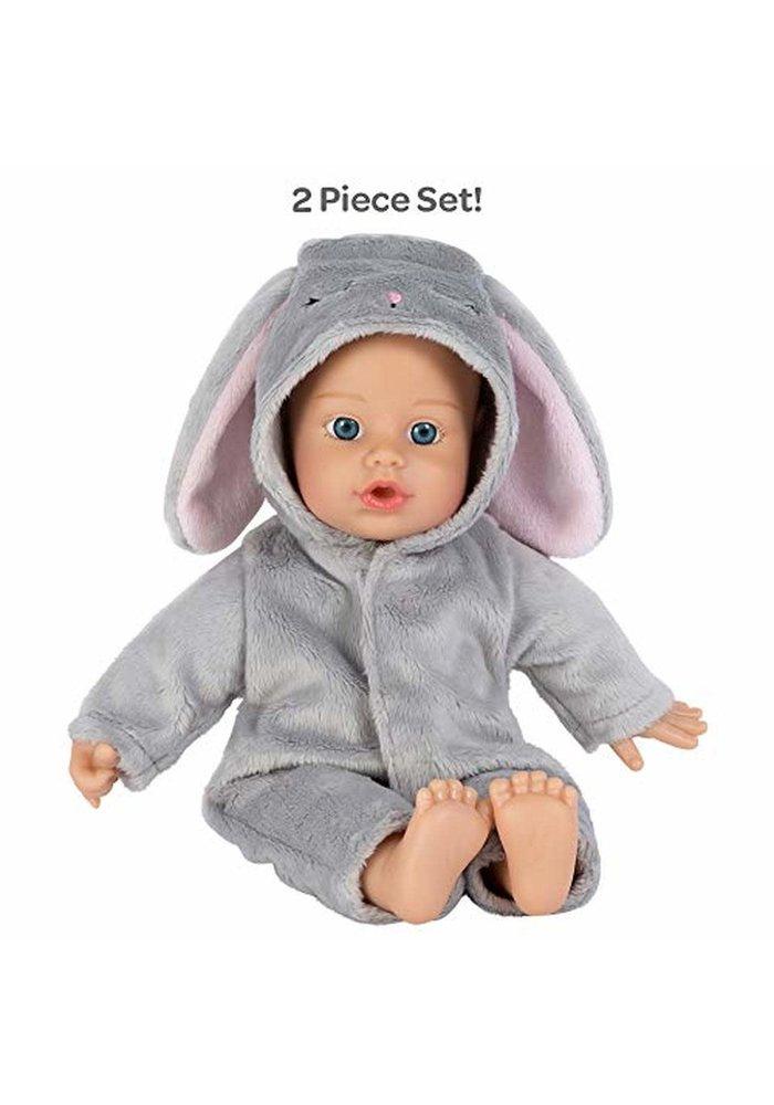 Adora Funsie Onesie Baby Bunny