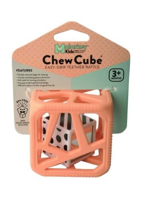 Malarkey Kids Malarkey Kids Chew Cube Peachy Pink