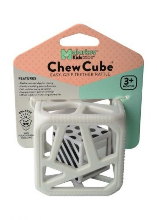 Malarkey Kids Malarkey Kids Chew Cube Light Grey