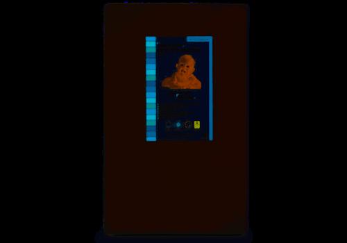 "Moonlight Slumber Moonlight Slumber Little Dreamer Mini Crib Porta - 5"" dual sided  24x 38 x5"""