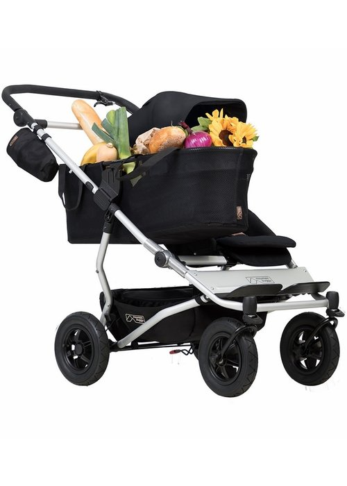 Mountain Buggy Mountain Buggy Duet as a Single Stroller - Black