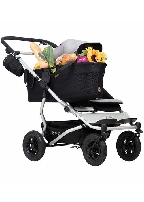 Mountain Buggy Mountain Buggy Duet as a Single Stroller - Silver