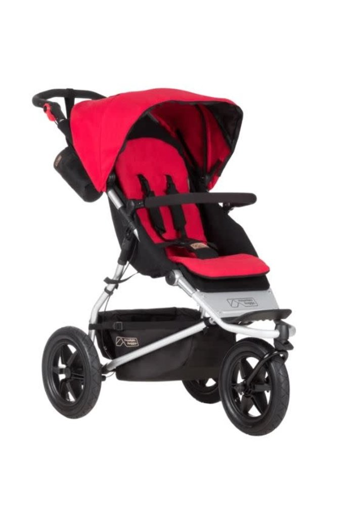 Mountain Buggy Urban Jungle Stroller In Berry