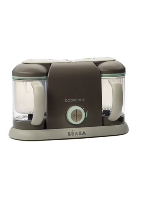 Beaba Beaba BabyCook Pro 2X Baby Food Maker In Latte-Mint
