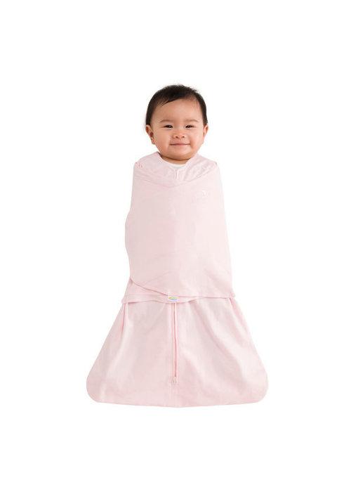 Halo Halo Sleepsack Swaddle 100% Cotton Soft Pink In Newborn
