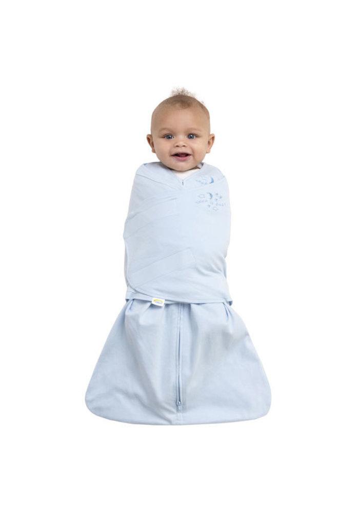Halo Sleepsack Swaddle 100% Cotton Baby Blue In Newborn