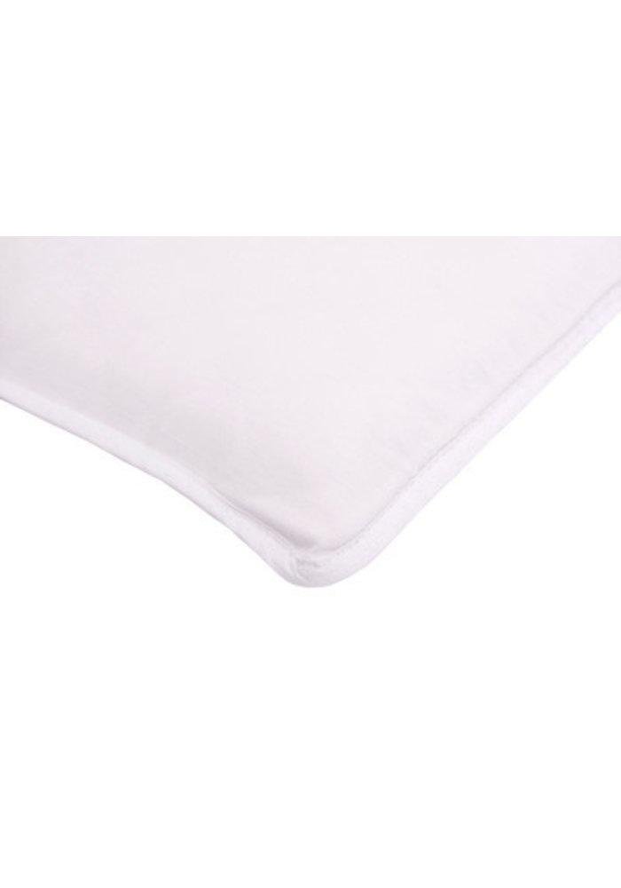 Arm's Reach Mini White Sheet 80% Polyster Cotton-20% Cotton