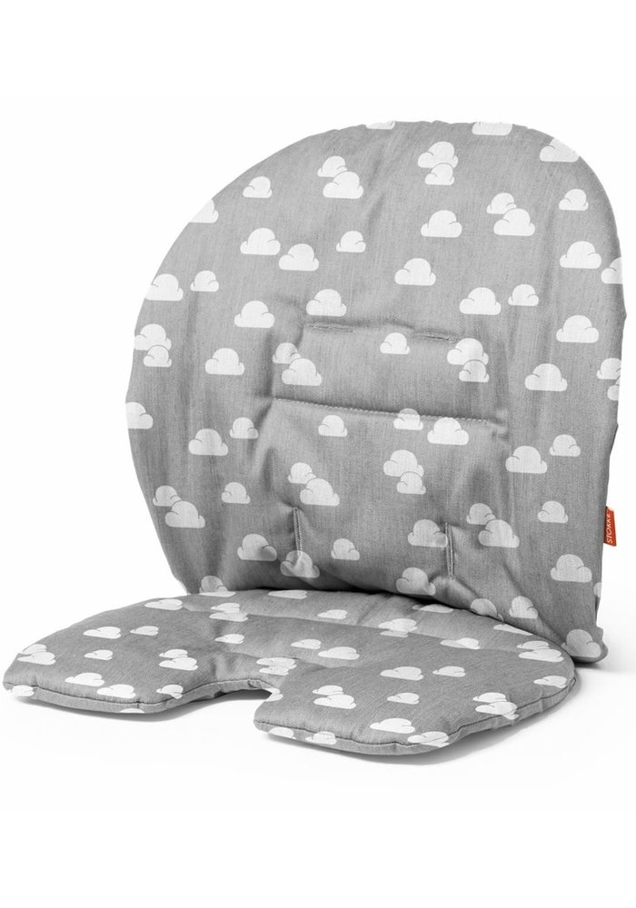 Stokke Steps Cushion In Grey Clouds