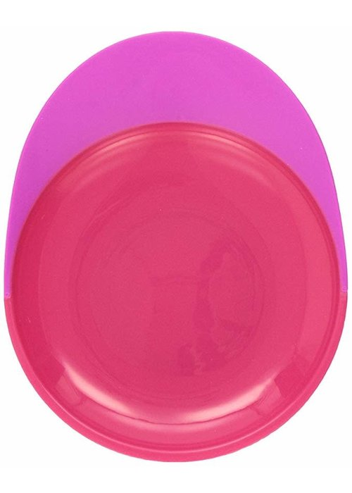 Boon Boon Catch Plate With Spill Catcher Pink/Purple