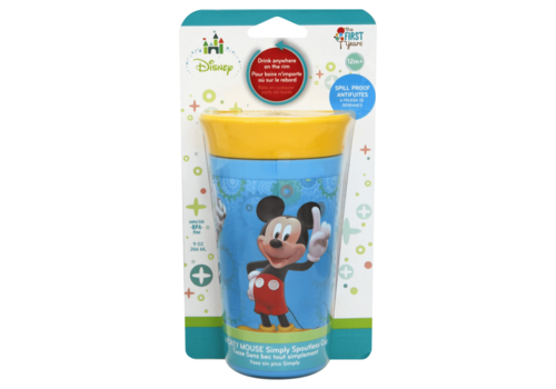 The First Years The First Year's Disney Mickey 9 Ounce Simply Spoutless Cup