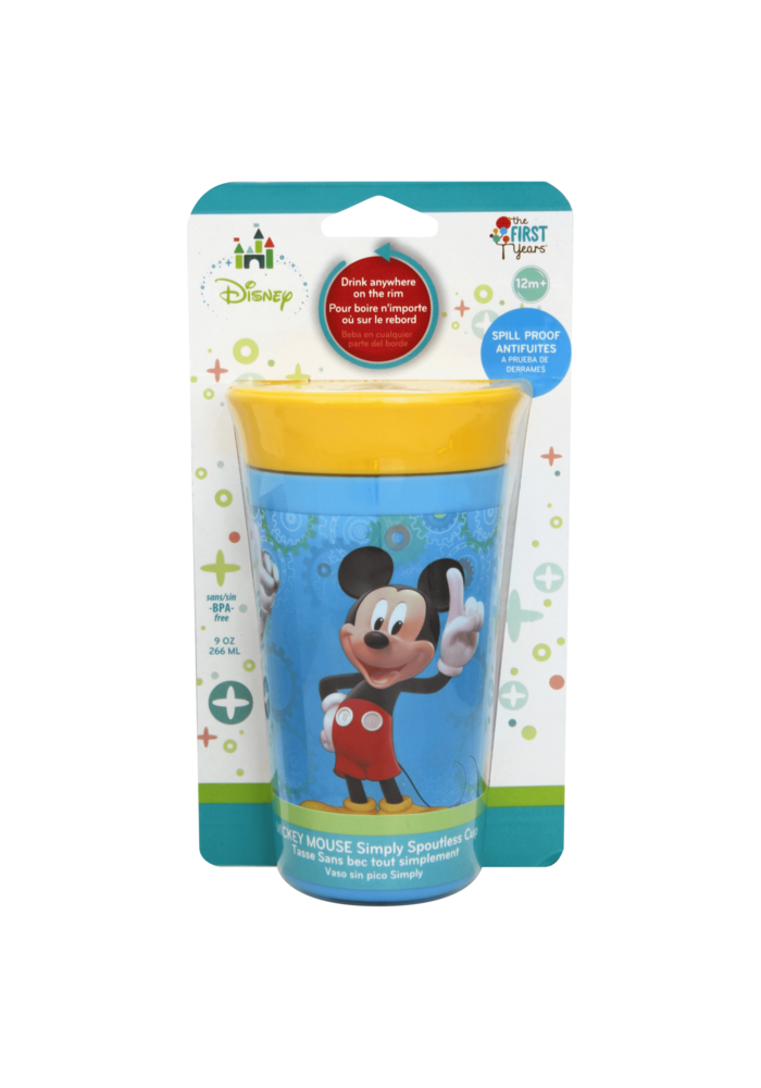 The First Year's Disney Mickey 9 Ounce Simply Spoutless Cup