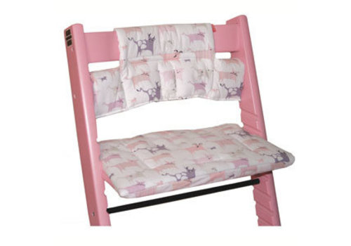 Stokke CLOSEOUT!! Stokke Tripp Trapp Cushions In Tales Pink (Coated)