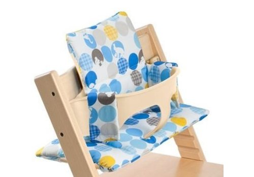 Stokke CLOSEOUT!!! Stokke Tripp Trapp Cushions In Silhouette Blue