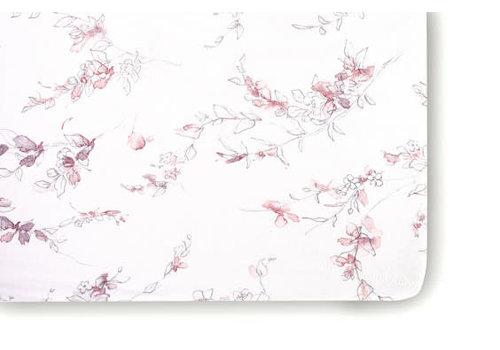 Oilo Oilo Crib Sheet In Bella Floral (Jersey Fabric)