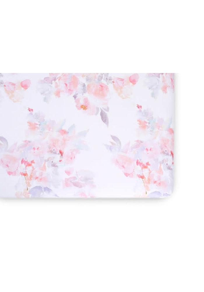 Oilo Crib Sheet In Prim (Jersey Fabric)