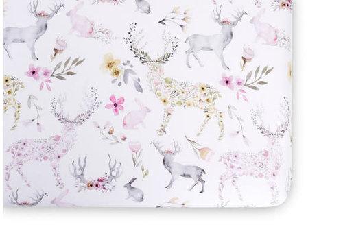 Oilo Oilo Crib Sheet In Fawn (Jersey Fabric)