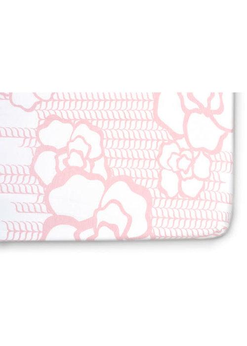 Oilo Oilo Crib Sheet In Capri (Jersey Fabric)