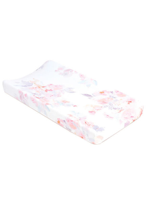 Oilo Oilo Changing Pad Sheet In Prim (Jersey Fabric)