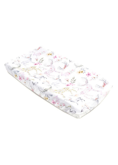 Oilo Oilo Changing Pad Sheet In Fawn (Jersey Fabric)