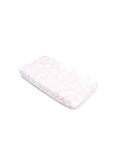 Oilo Oilo Changing Pad Sheet In Capri (Jersey Fabric)