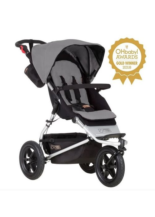 Mountain Buggy Mountain Buggy Urban Jungle Stroller In Silver