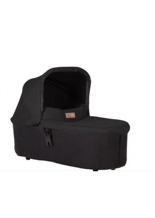 Mountain Buggy Mountain Buggy Duet Plus Carrycot In Black