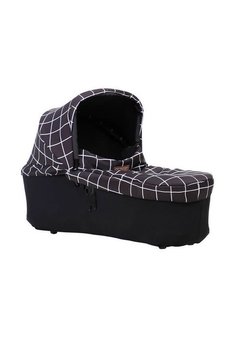 Mountain Buggy Mountain Buggy Duet Plus Carrycot In Grid