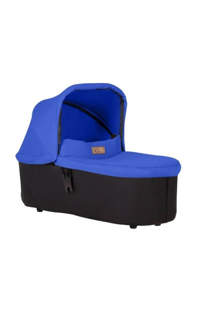 Mountain Buggy Duet Plus Carrycot In Marine