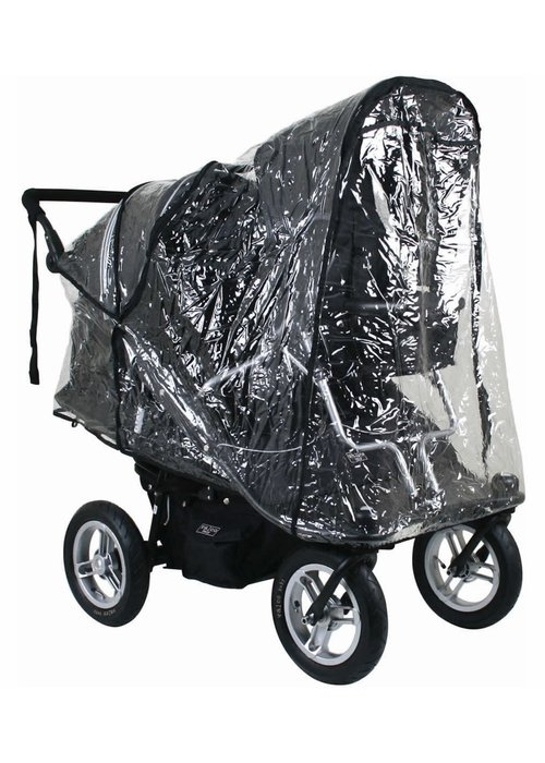 Valco Baby Valco Baby Twin Joey Rain Cover For Double Stroller