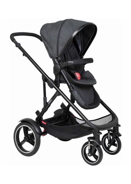 Phil And Teds Phil and Teds Voyager Buggy In Black