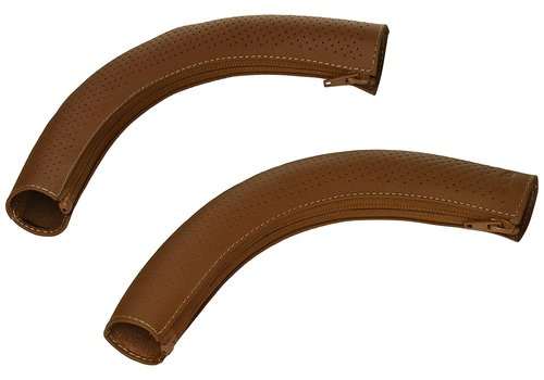 UppaBaby Uppa Baby Cruz Leather Handlebar Covers- For Cruz 2015-Later In Brown