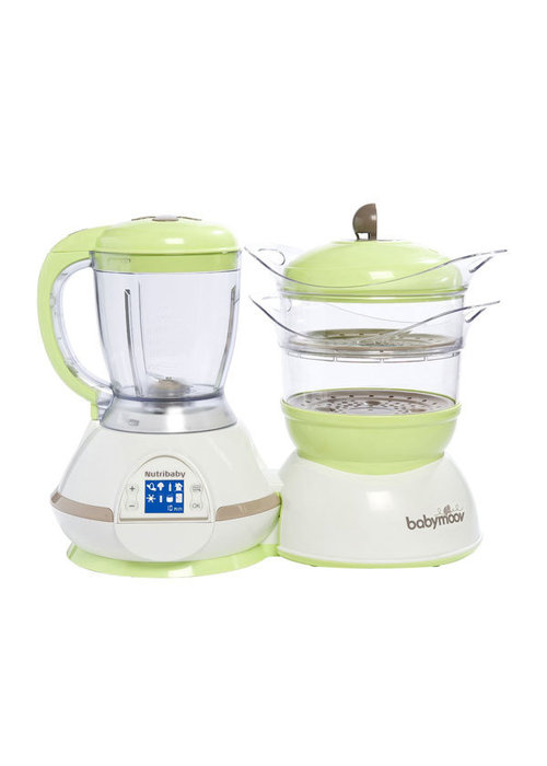 Babymoov Babymoov Nutribaby Digital Baby Food Steamer - Processor with Multiple Chamber