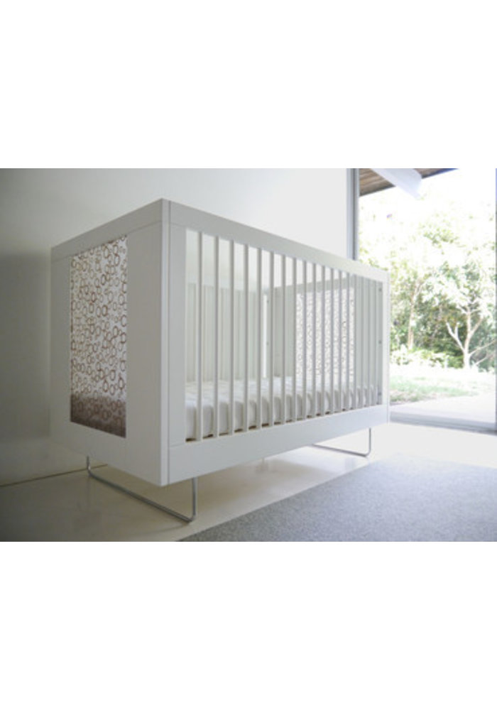 Spot On Square Alto Crib With Bamboo Rings