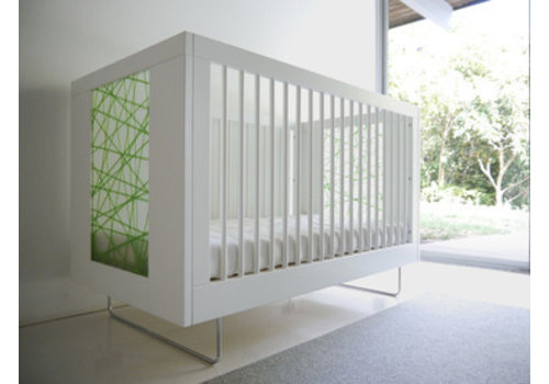 Spot On Square Spot On Square Alto Crib With Green Strands
