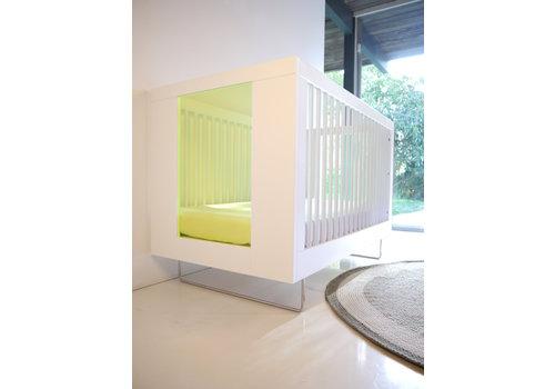 Spot On Square Spot On Square Alto Crib With Kiwi Acrylic