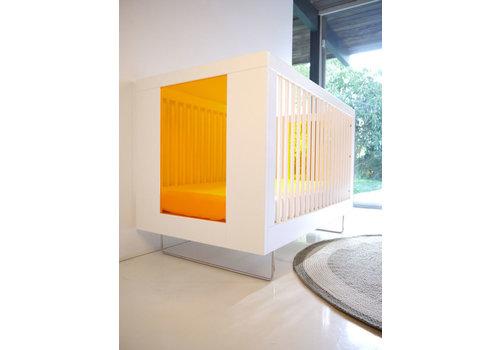 Spot On Square Spot On Square Alto Crib With Tangerine Acrylic