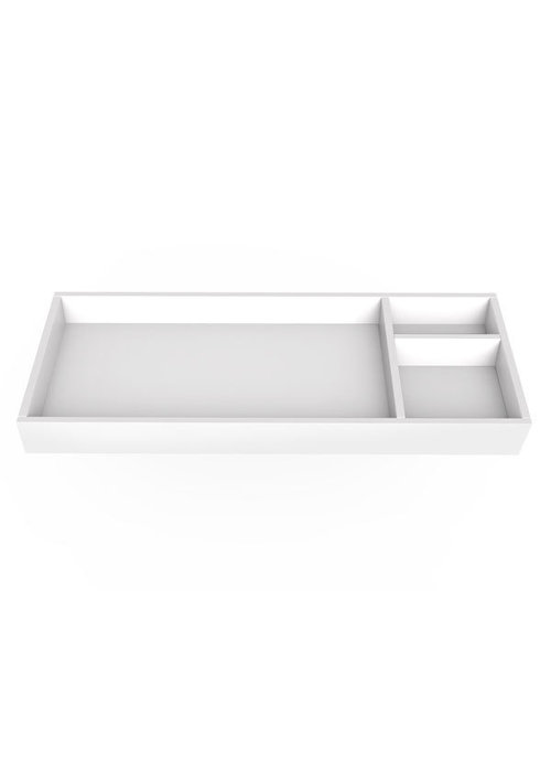 Spot On Square Spot On Square 45'' Wide Changing Tray - White