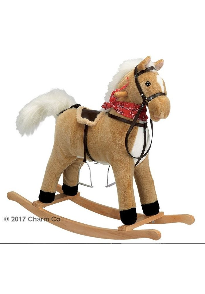 Charm Buffy Rocking Horse (Moving Mouth And Tail)