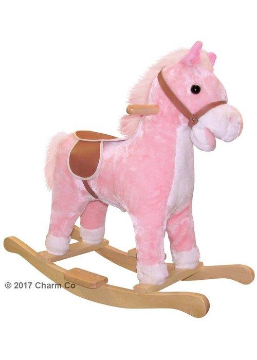 Charm Charm Lil Pink Rocking Horse