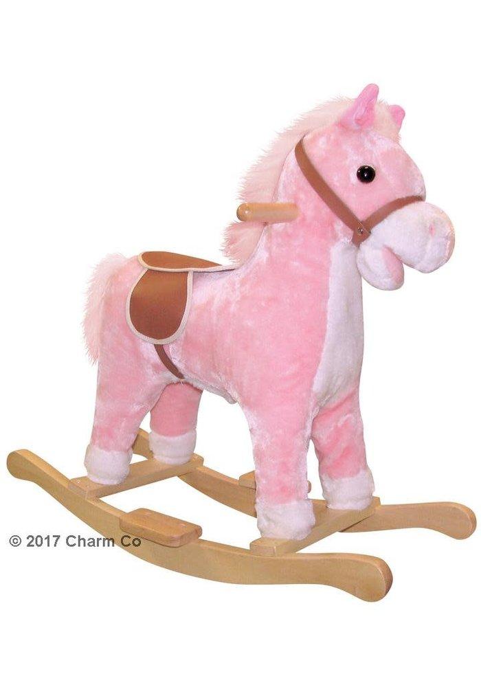 Charm Lil Pink Rocking Horse